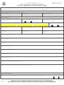 Form Ds-234 - Special Immigrant Visa Biodata Form