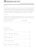 Customer Satisfaction Survey - Demand Metric