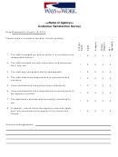 General Customer Satisfaction Survey
