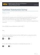 Wcu Customer Satisfaction Survey
