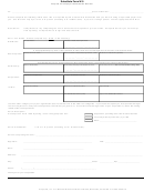 Substitute Form W-9 - Request For Taxpayer Identification Number