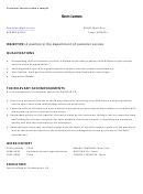 Customer Service Resume Sample 4
