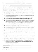 Field Trip Behavior Contract