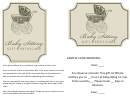 Babysitting Gift Certificate Template