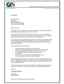 Sample Business Introduction Letter Template