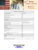 Family Reunion Budget Worksheet Template