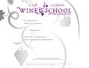 Wine School Gift Certificate Template