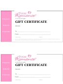 Kristen Winkler Gift Certificate
