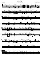 Sheet Music - C. T. A. Trombone
