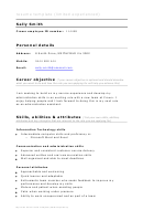 Sample Cover Letter - Limited Work Experience