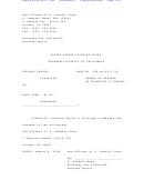 Change Of Address Of Plaintiff's Counsel