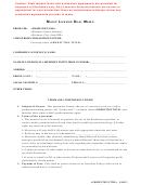 Music License Deal Memo