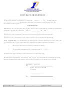 Contract Amendment