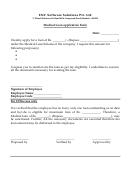 Medical Loan Application Form