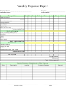 Weekly Expense Report