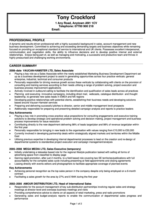 Resume Templates Printable pdf