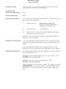 Not Guilty Plea Form Summary
