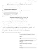 Response To Petition For Certiorari Certified Interlocutory Order