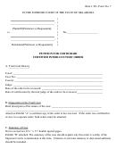 Petition For Certiorari Certified Interlocutory Order