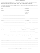 Church Newsletter Survey