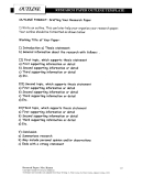 Research Paper Outline 4