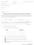Decree Of Dissolution Of Marriage And Settlement Agreement