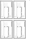 Fillable Insurance Identification Card printable pdf download