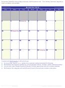 November 2019 Calendar Template