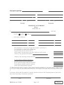 Financial Statement Template