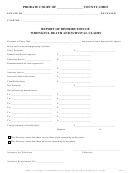 Report Of Distribution Of Wrongful Death And Survival Claims Form