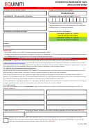 Equiniti Dividend Re-investment Plan Application Form - Prudential
