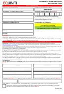 Equiniti Dividend Re-investment Plan Application Form - Pearson