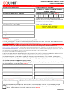 Equiniti Dividend Re-investment Plan Application Form - Jpmorgan Global Emerging Markets Income Trust