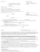 Form Uccjea-7a - Order - Electronic Testimony Application