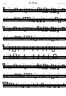 Sheet Music - C. T. A. C Melo