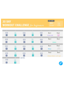 30 Day Challenge Workout For Beginners