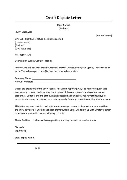 page_1_thumb_big Sample Credit Card Dispute Letter Template on sample visa, forms printable refund,