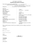 Specimen Employment Contract