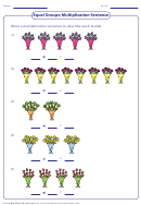 Equal Groups Multiplication Sequence
