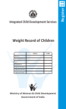 Weight Record Of Children