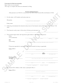 Articles Of Reinstatement Form - Colorado Secretary Of State