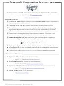 Foreign Nonprofit Corporation Application For Certificate Of Authority - Wyoming Secretary Of State