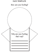 Feelings Blank Face Template
