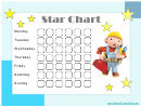 Star Reward Chart - Bob The Builder