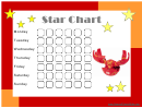 Kid's Star Reward Chart