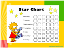 Star Reward Chart - Lisa Simpson