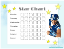 Star Reward Chart - Lazy Town