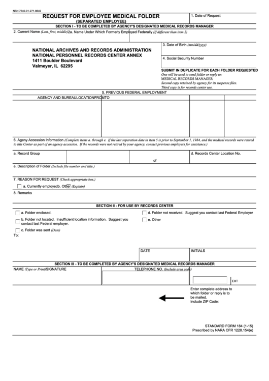 13 Request For Medical Records Templates free to download in PDF ...