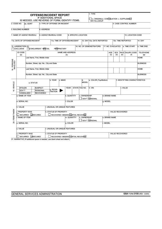 top 5 police incident report form templates free to