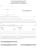 Trial Scheduling Order